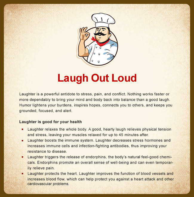 laughter is a powerful antidote Laughter is the best medicine the health benefits of humor and laughter sure, it's fun to share a good laugh laughter is a powerful antidote to stress.